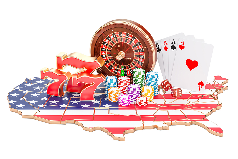 Sports betting, gambling, USA