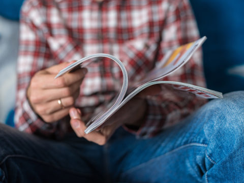 Romance between digital brands and print magazines