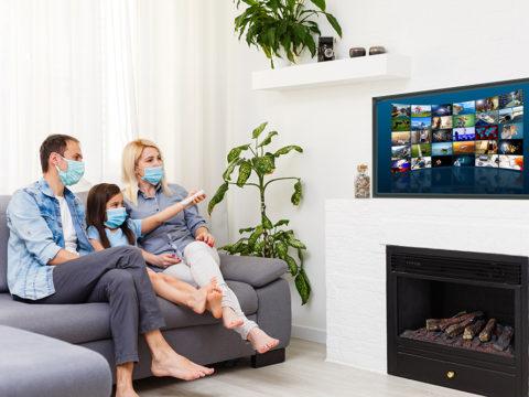 Watching advanced TV during quarantine